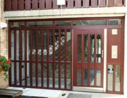 Timber Portcullis Doors image