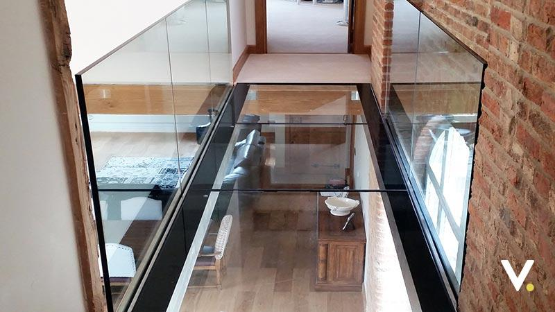 Structural Glass Floors And Walk On Floor Glazing By Vitrelum