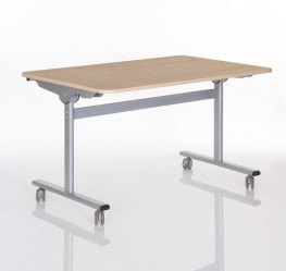 Rectangular tilt top table image