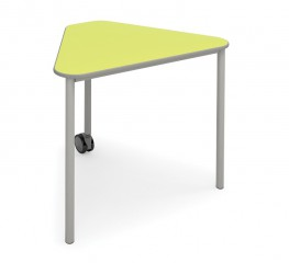 Wedge Table with Castor image