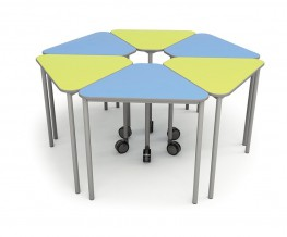 Wedge Table with Castor - British Thornton ESF