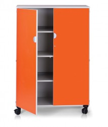 Vista Mobile 4 shelf unit with doors image