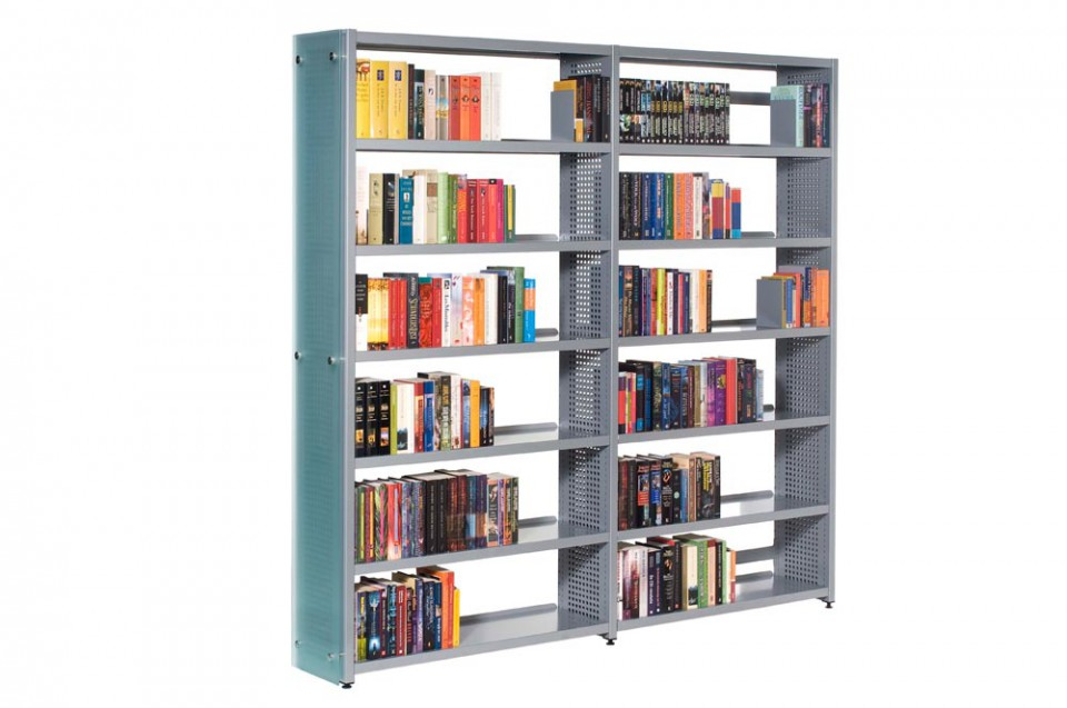 Bruynzeel Storage Systems.Library Shelving By Bruynzeel Storage Systems