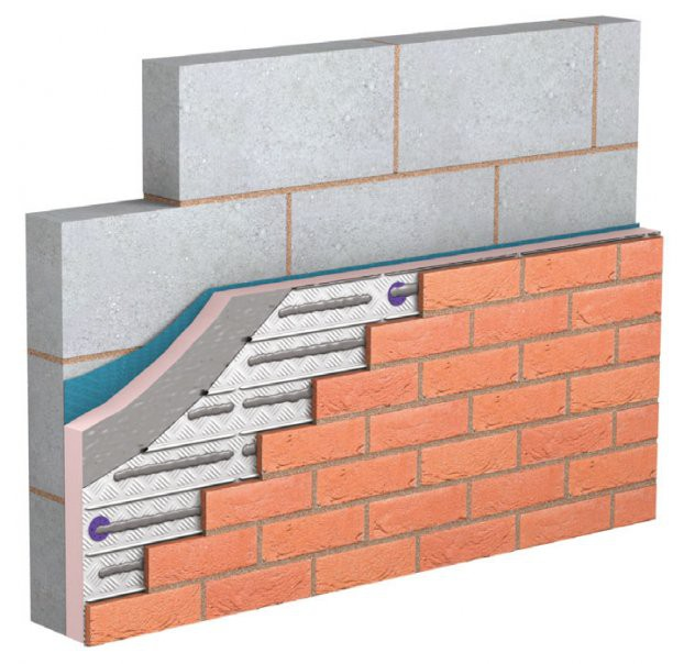 Wonderwall Brick Cladding System By Hanson Building Products