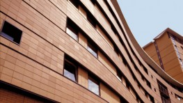 Hanson's LockClad system provides a ventilated rainscreen and decorative external terracotta façade. It is suitable for most types of construction, including concrete, timber and steel framed buildings and can accommodate curves, corners, angles, windows an...