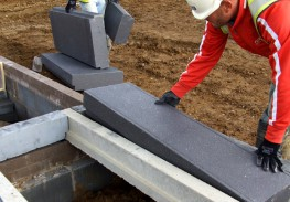 Hanson's Jetfloor was the UK's first system to use expanded polystyrene blocks combined with a structural concrete topping to provide high levels of thermal insulation. It consists of standard 150mm and 225mm prestressed concrete beams infilled with expand...