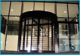Stackdoor Curved - Stacking Security Shutters - CGT Security