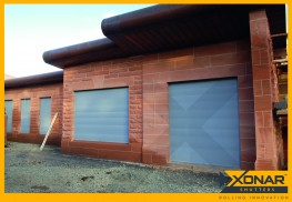 Xonar 600 Roller Shutter - Built-In Security Shutter - CGT Security