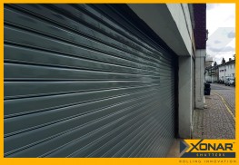 Xonar 640 Roller Shutter - Built-In Security Shutter for Larger Openings - Self-Locking Technology image