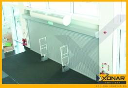 Xonar 740 Roller Shutter - Bolt-On Roller Shutter for Larger Openings - Self-Locking Technology - CGT Security