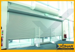 Xonar 740 Roller Shutter - Bolt-On Roller Shutter for Larger Openings - Self-Locking Technology image