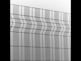 """Paladin FX is a welded mesh panel fence that combines aesthetic appearance and rigidity. Benefits: Aesthetic appearance; High rigidity; Performance against """"cut-through"""" and climbing; Excellent through vision; Wide range of colour options; Available as a c..."""