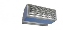 The Invisidor IndAC air curtain has been developed to facilitate easier access for transport vehicles and prevent cold draughts in large loading bay doors. Because such doors are usually tall and wide it is necessary for the air curtain to discharge large volu...