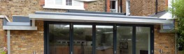 The Alifabs G146 gutter system is a robust and durable extruded Aluminium high capacity box section of exceptional high quality and appearance. All joints are self-aligning and flush externally, whilst fixings are concealed to preserve the clean lines of the w...