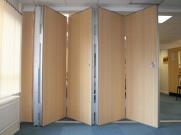 Kudos Sliding Folding Partitions - High Spec Operable Partitions image