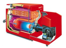 Uno-3 - Commercial Building Boilers image