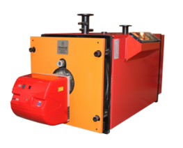 The SR-plus is a high efficiency, low NOx boiler ranging from 144 to 4150 kW. It is a well proven steel shell boiler on oil, gas or oil and gas dual fuel. It can also be offered in a condensing option or stacked heatpack format (from 2 x 500kW). The SR-plus is...