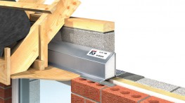 Lintel Must be built in with blockwork & continuous wall plate as shown. Continuous wall plate must be provided above openings & reveals. Lintels may be propped to facilitate speed of construction.