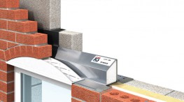 When low rise arches are required in brickwork above openings, the IG Universal Arch provides the ideal former for the bricklayer. Vacuum-formed from white pigmented impact resistant polystyrene. Suitable for use in cavity walls and with timber frame construction, the unit is designed to sit on any steel lintel with an outer flange of 90mm to 95mm.