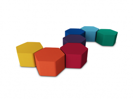 The Isis s41 Hex soft seating can be used as individual seats or soft seating groups with or without complimentary tables. The Isis s41 soft seating designs provide endless possibilities. The Isis s41 soft seating range is available in a wide range of colours ...