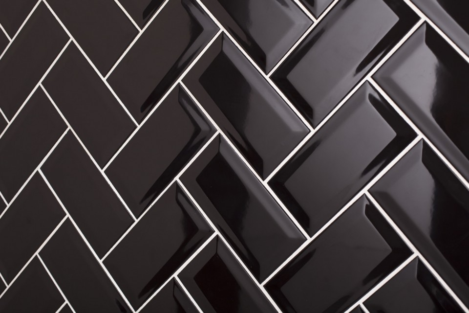 Bevel Brick Intro Collection Glazed Ceramic Wall Tiles