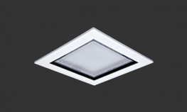 Recessed luminaires with high pressure die- cast body/heat sink and frame and injection moulded precision optics. 16W or 32W LED. Choice of optics for corridor, open area and low glare (VDT). Open, halo and IK10 polycarbonate cover versions available. Designed...
