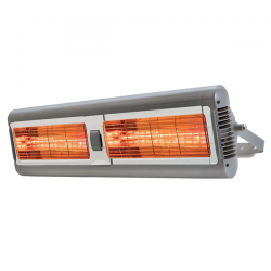 The AmbiRad Sorrento range is a robust weatherproof heater (IP24 rated). The range is premium versatile heater that is also available in a double or triple option and can be grouped together horizontally and vertically making it suitable for countless applicat...