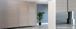 The contemporary and affordable, flush-fronted office washroom.Flush frontedFloating appearanceUltra durable 16mm SGL* doors and pilasters13mm SGL divisionsStandard height 2100mmFull height option with 20mm ceiling clearance required100 or 20mm floor c...