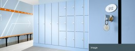 The high performance, flexible locker system.Complete size and configuration flexibilityCompatible with Aquabench seatingLock options to suit any requirementWaterproof solid grade laminate doors and carcassBraille number plate optionWhatever your locke...