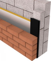 The ARC Insulated DPC has been developed to close off cavities around window and door openings and is intended to be used in conjunction with a return block. The Insulated DPC will also help eliminate cold bridging around openings.