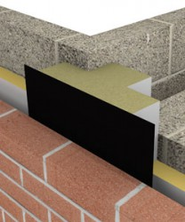 The ARC T-Barrier® achieves a zero U-value at the party wall junction by sealing the party wall cavity. This minimises the effect of thermal bypass as well as reducing flanking noise in the cavity. The ARC T-Barrier provides a 4 hour fire integrity at the party wall junction and meets the Robust Detail's requirement for a barrier where a separating party wall meets an external cavity wall, significantly reducing sound transmission along the cavity.