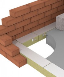 The ARC Fire Stop Slab can be used to provide a fire barrier in masonry wall cavities as well as at the edge of a concrete floor slab. It is manufactured from high density foil faced rockfibre mineral wool. Two versions are available; one with a rebated jointi...