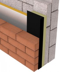 The ARC Rockfibre Insulated DPC has been developed to close off cavities around window and door openings where a fire rating is required and is intended to be used in conjunction with a return block. As well as excellent fire properties, the ARC Rockfibre Insulated DPC will help to prevent cold bridging around openings.