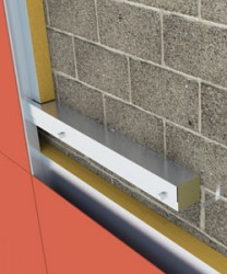 The ARC Rainscreen Barrier has been designed to provide a two hour fire rating where a ventilated space is required in the construction, ideal for use behind a rainscreen cladding system. As the barrier is heated, intumescent expands to fill the air space and provide an effective fire and smoke barrier.