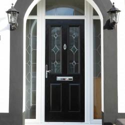 REHAU TOTAL70 ENTRANCE DOORS image