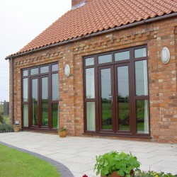 REHAU TRITEC 60MM FRENCH DOORS image
