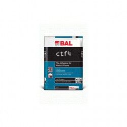 ctf4 tile adhesive by bal adhesives. Black Bedroom Furniture Sets. Home Design Ideas