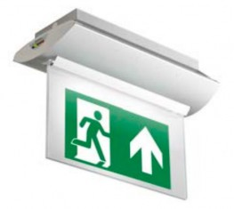 LED edge-lit exit sign image