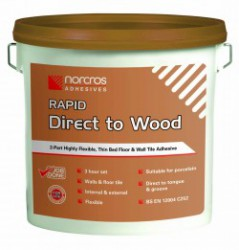2 Part Tile Direct to Wood Rapid Adhesive image