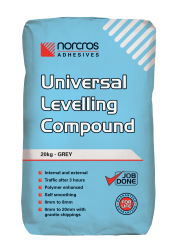 how to use self levelling compound over tiles