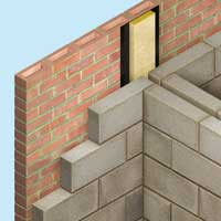The ROCKWOOL Acoustic Party Wall DPC Cavity Closer is a dual purpose acoustic and fire cavity closer used at floor and wall junctions. It minimises flanking sound transmission and fire spread along the cavity. ROCKWOOL Acoustic Party Wall DPC Cavity Closer is ...