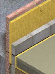 ROCKWOOL Cavity insulation is a rigid full-fill insulation solution for masonry cavity wall construction, suitable for use in new builds or extensions. Lightweight and easy to handle, the batts are simple to install and provide a close fit against brick and bl...