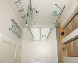 Embrace Trapezium Shower Enclosure By Roman