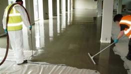 weberfloor 4945 (Glass fibre reinforcing mesh for weberfloor products) — Flooring System - Saint-Gobain Weber