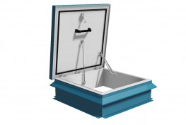 Roof Access Hatch Premium 75mm Insulation - Surespan Limited