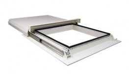 SLH Sliding Glass Rooflights Electric Operated - Surespan Limited