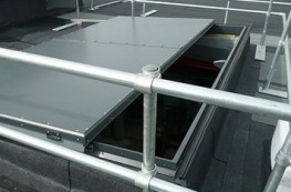 Surespan SLH sliding roof hatches and sliding glass roof lights provide many advantages over standard roof access hatches. The sliding access hatch is ideal where there is a height restrictions or in areas with high risk of wind. They are also ideal for access...