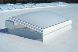 Automatic Opening Smoke Vent Rooflight 160° image