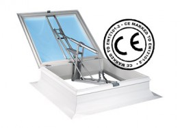 Automatic Opening Smoke Vent Rooflight 160° - Surespan Limited