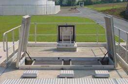 RSI Upstand Floor Hatch - Surespan Limited